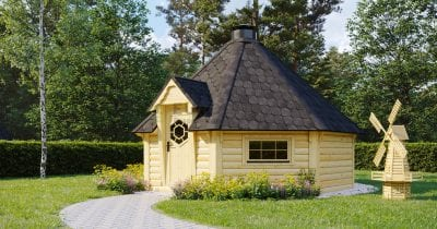 BBQ Hut Cordial 2 – 16.5m2