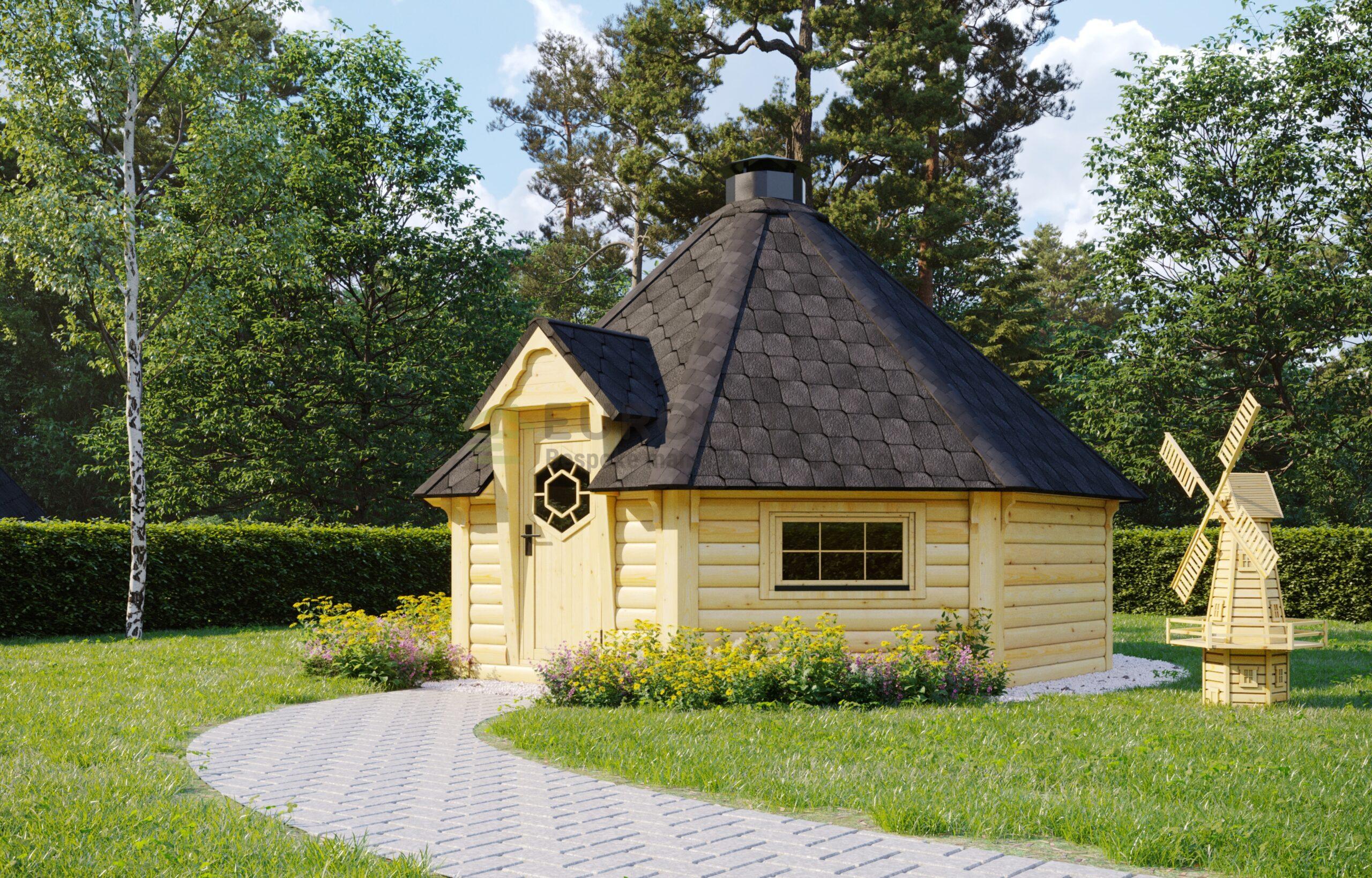 BBQ Hut 16.5m2