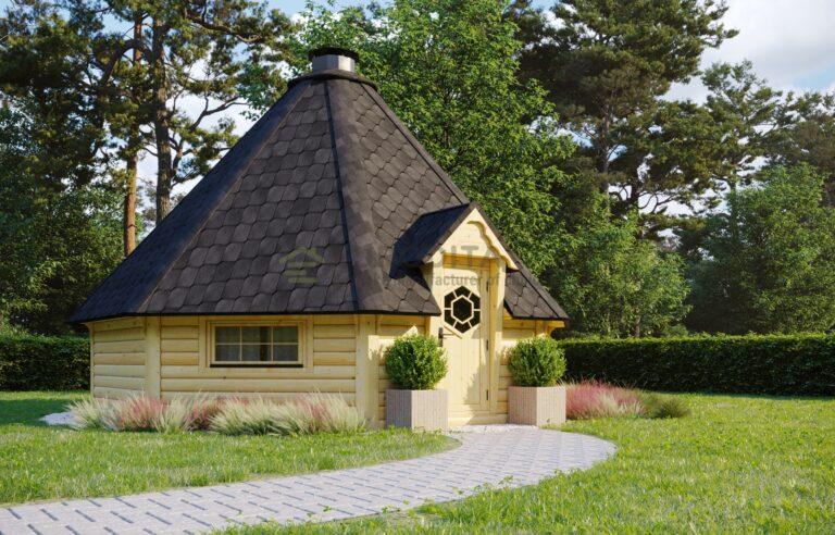 BBQ Hut Cordial 3 - 25m2