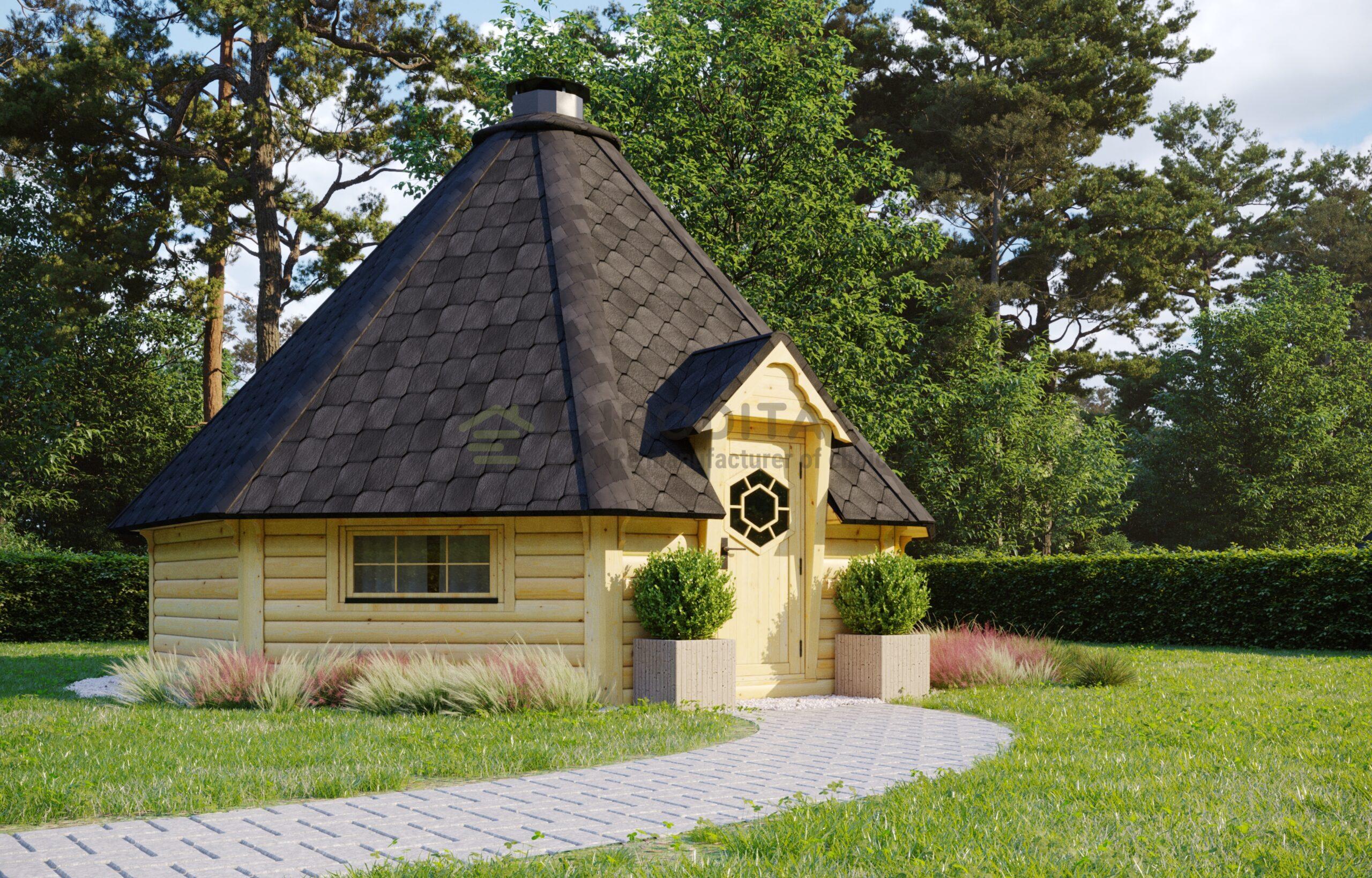 BBQ Hut 25m2