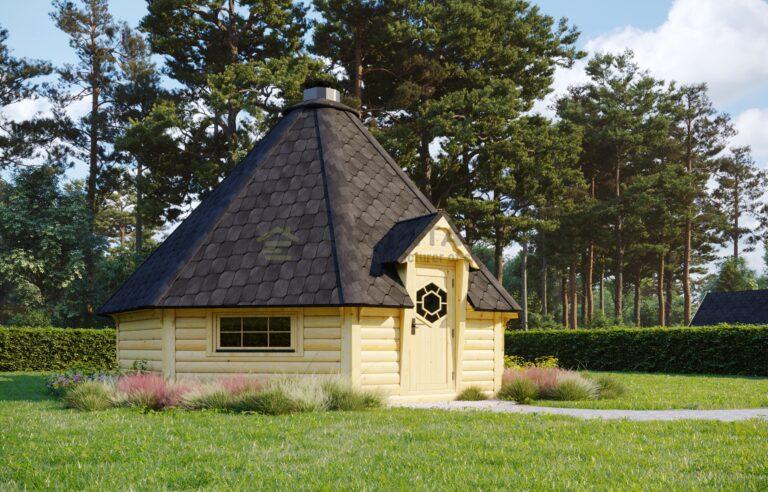 BBQ Hut 25m2 with Sauna extension - Mirth 4