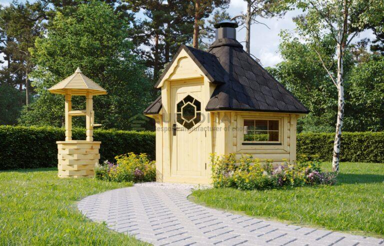 BBQ Hut Fairy - 4.5m2