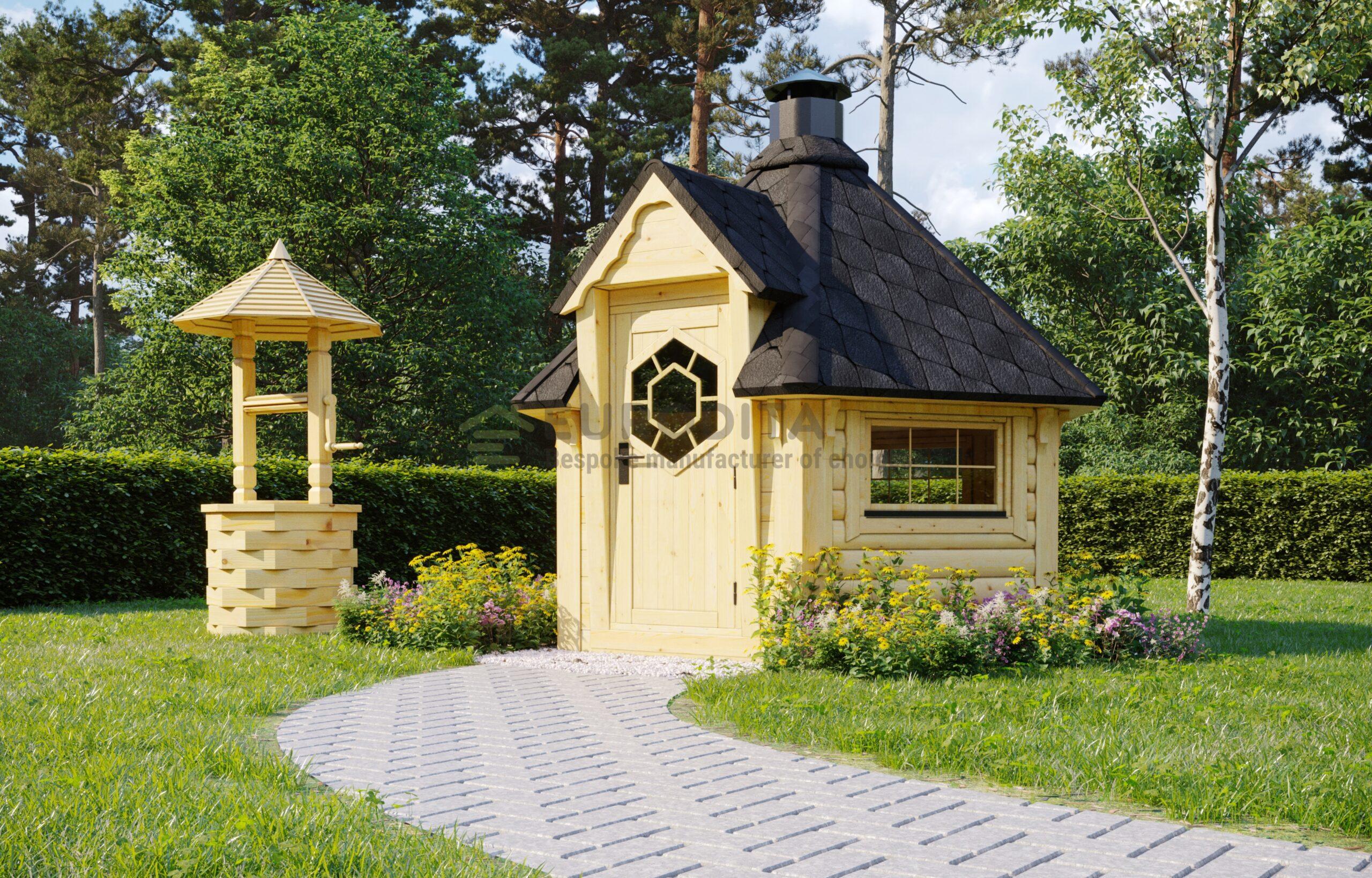 BBQ Hut 4.5 m2