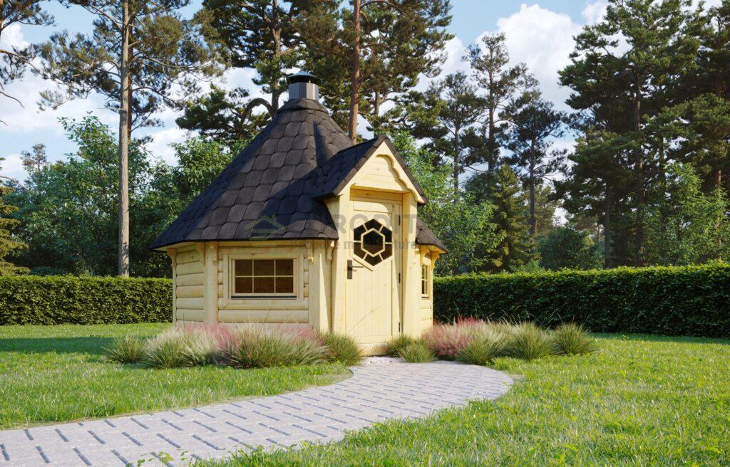 BBQ Hut Hexa 1 – 6.9m2