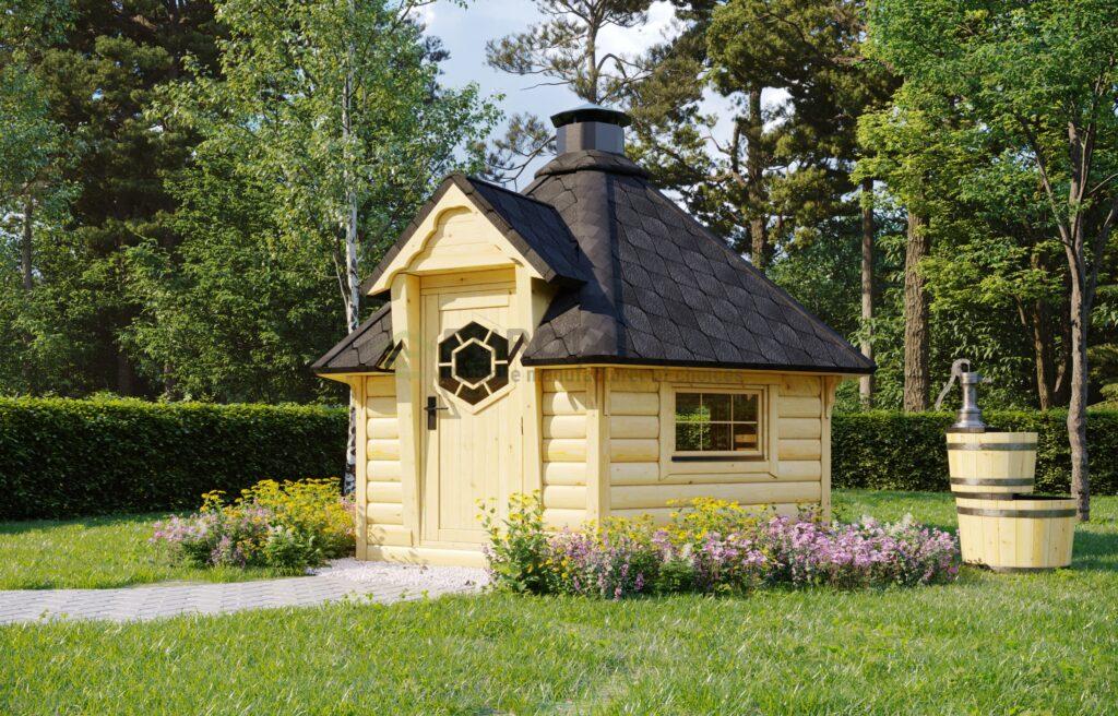 BBQ Hut Hexa 2 – 7m2