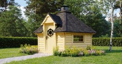 BBQ Hut Hexa 3 – 9.2m2