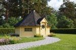BBQ Hut Sauna Cabin 16,5 m²