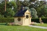 BBQ Hut Sauna Cabin 4,5 m²