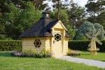 BBQ Hut Sauna Cabin 7m