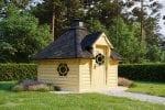 BBQ Hut Sauna Cabin 9.2m
