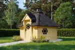 BBQ Hut Sauna Cabin 9,2 m² with Changing Room