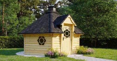 Sauna capanna BBQ Jolly - 9.2m2