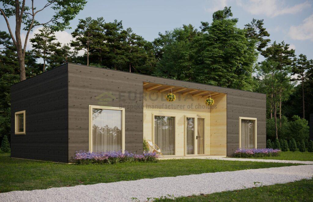 Contemporary Log Home Windermere