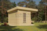 Corner Log Cabin 3.5×3.5m
