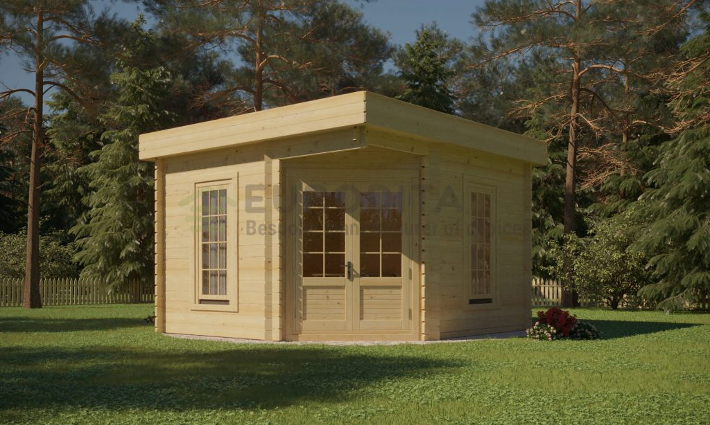 Log Cabin Iris 3.5×3.5m, 28mm