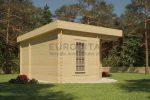 Eck-Blockhaus 3,5×5,0m