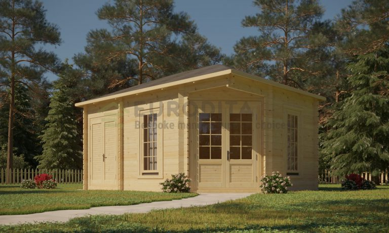 Log Cabin Bethany 4.4x3m, 44mm