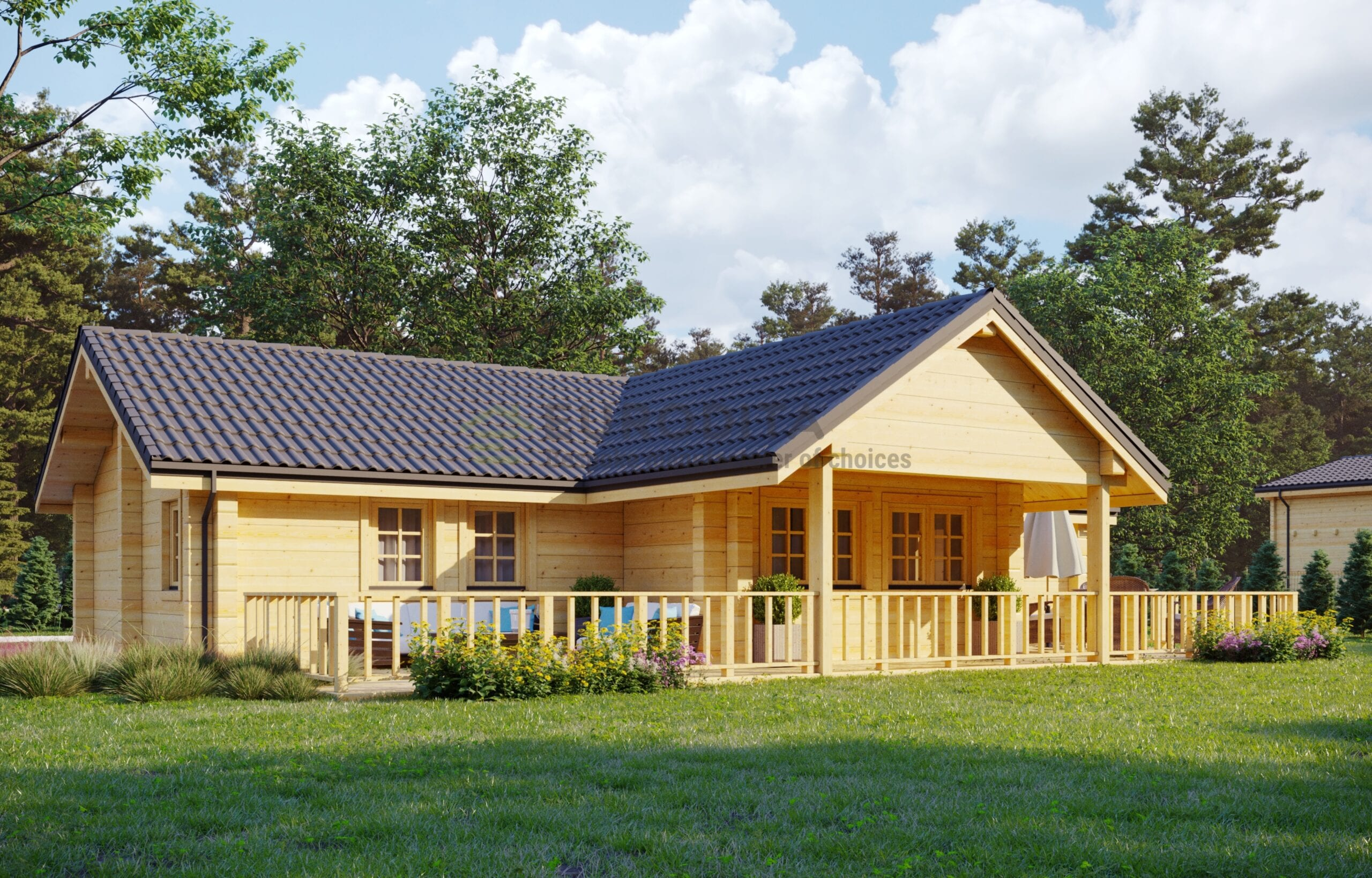 Glulam Log House Uvdal
