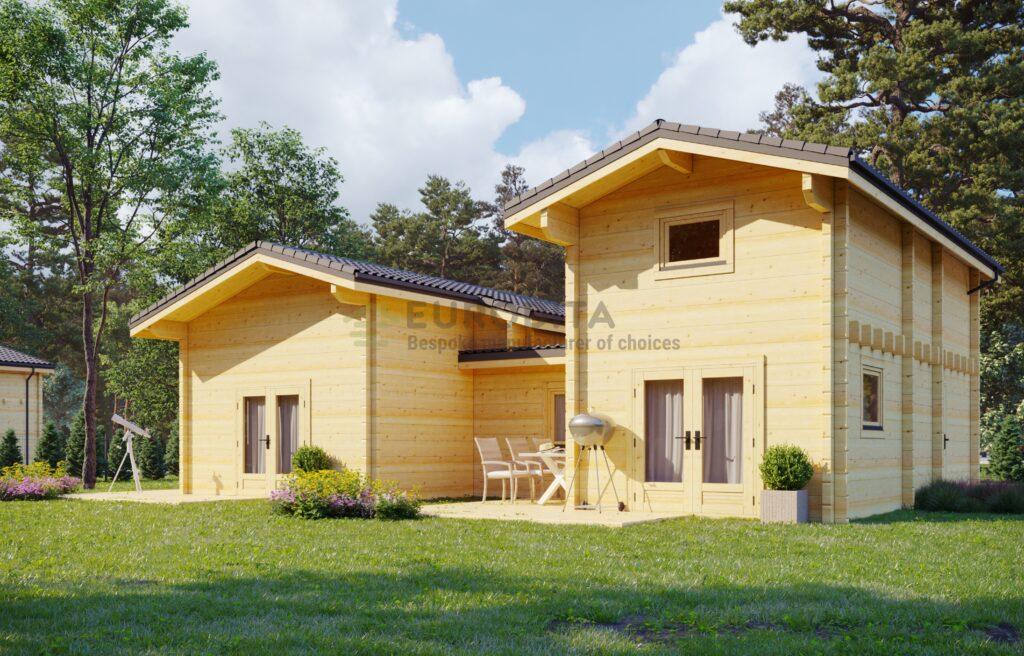 Casa de madera laminada Tavernier
