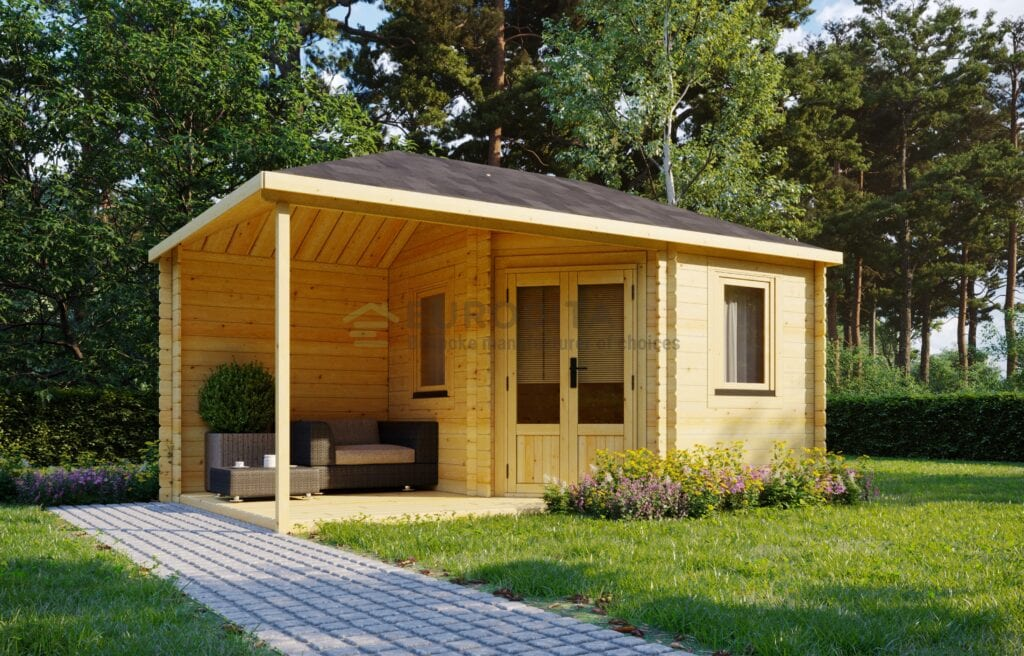 Standard Log Cabin Euro 5x3m – Pamela