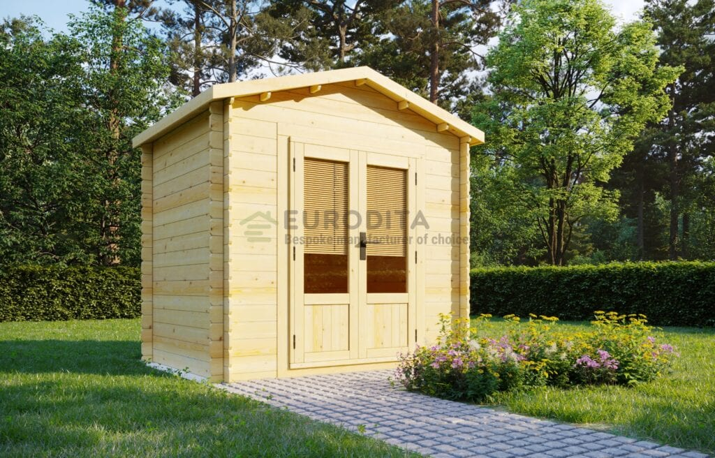 Standard Log Cabin 2×2.6m – Bitsy