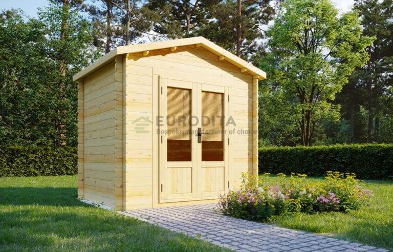 Standard Log Cabin [2×2.6m]