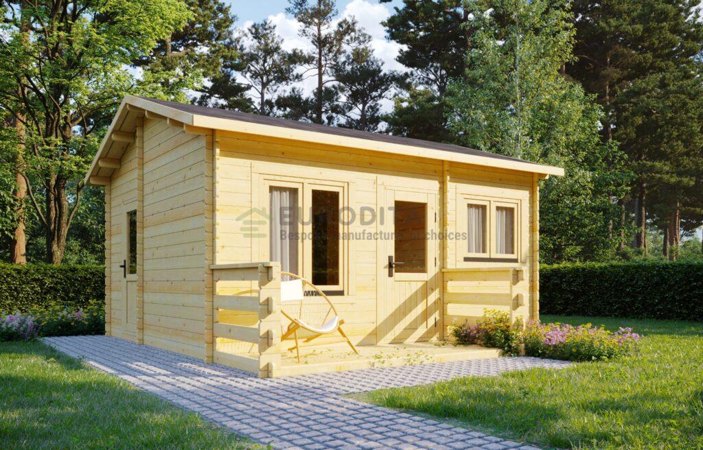 Bespoke Log Cabin 6×5.2m – Emily