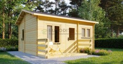 Standard Log Cabin 6×5.2m – Emily