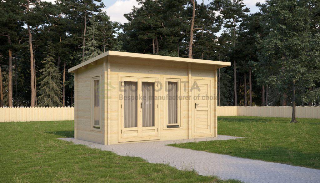 Glulam Log Cabin Dickinson