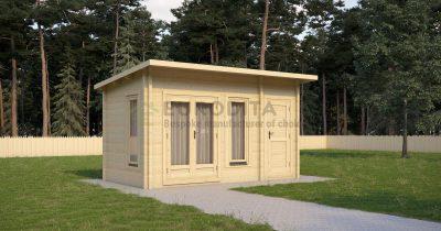 Cabaña de madera laminada Dickinson