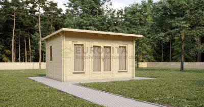 Cabaña de madera laminada Geary