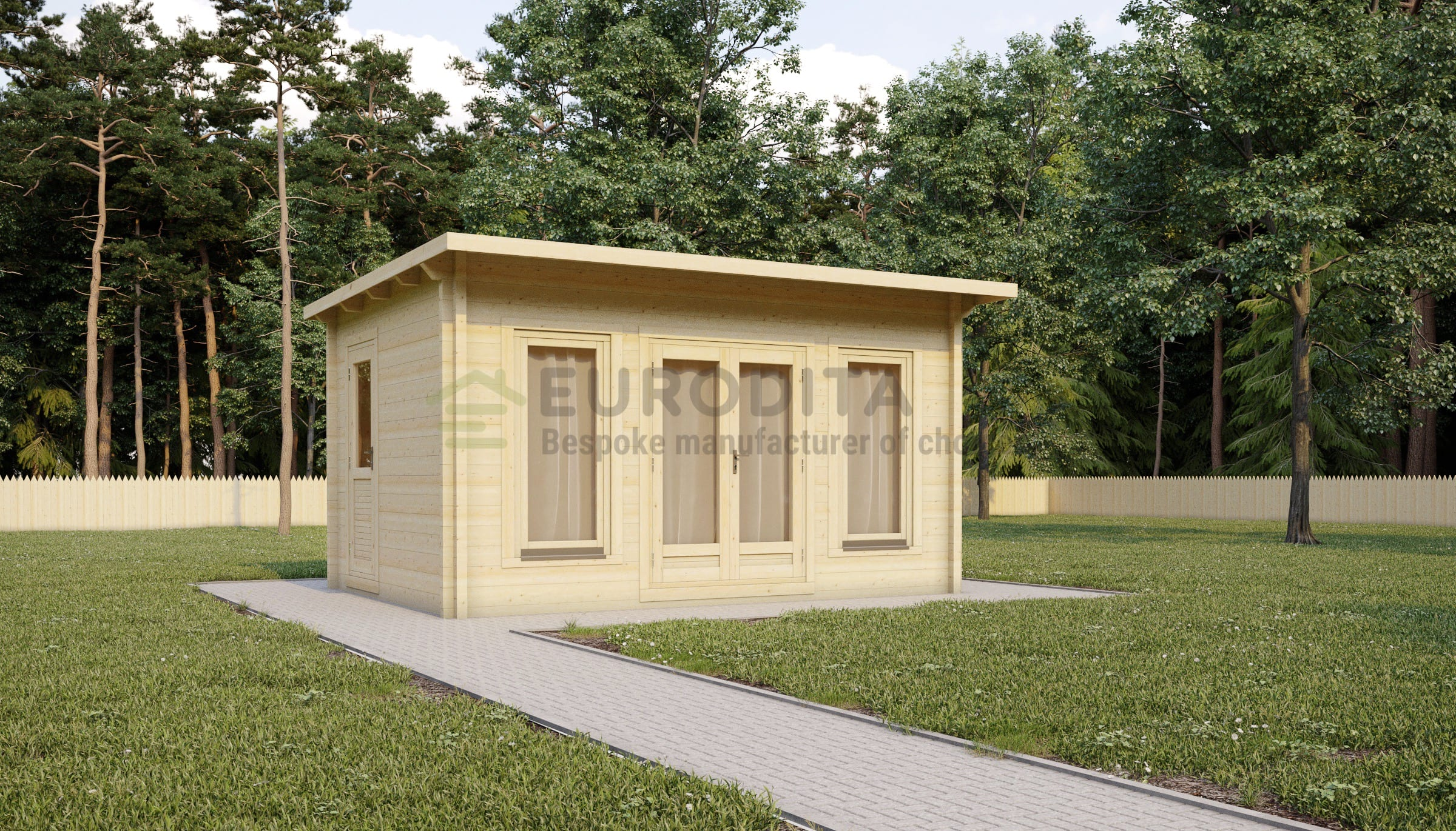 Glulam Log Cabin Geary