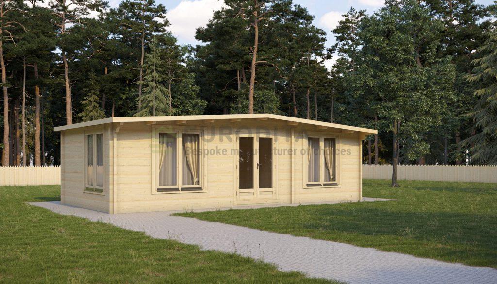Glulam Log Cabin Gilbert