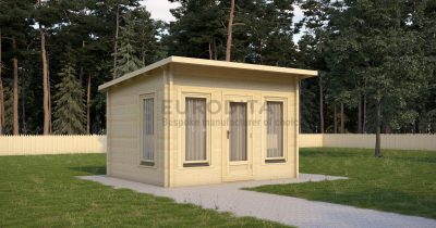 Glulam Log Cabin Horne