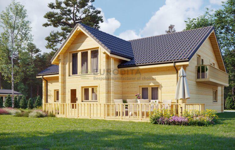 Casa de madera laminada Viena