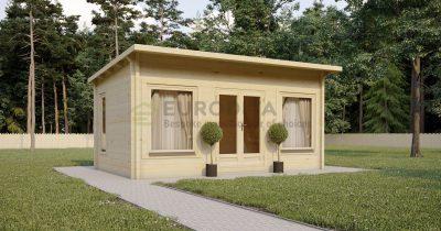 Cabaña de madera laminada Bayston