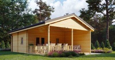Casa de madera laminada Richaud