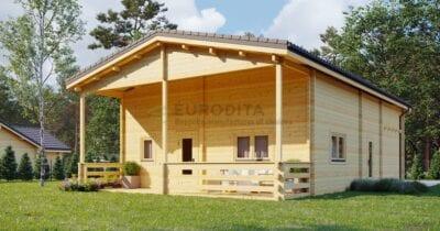 Casa de madera laminada en Toledo