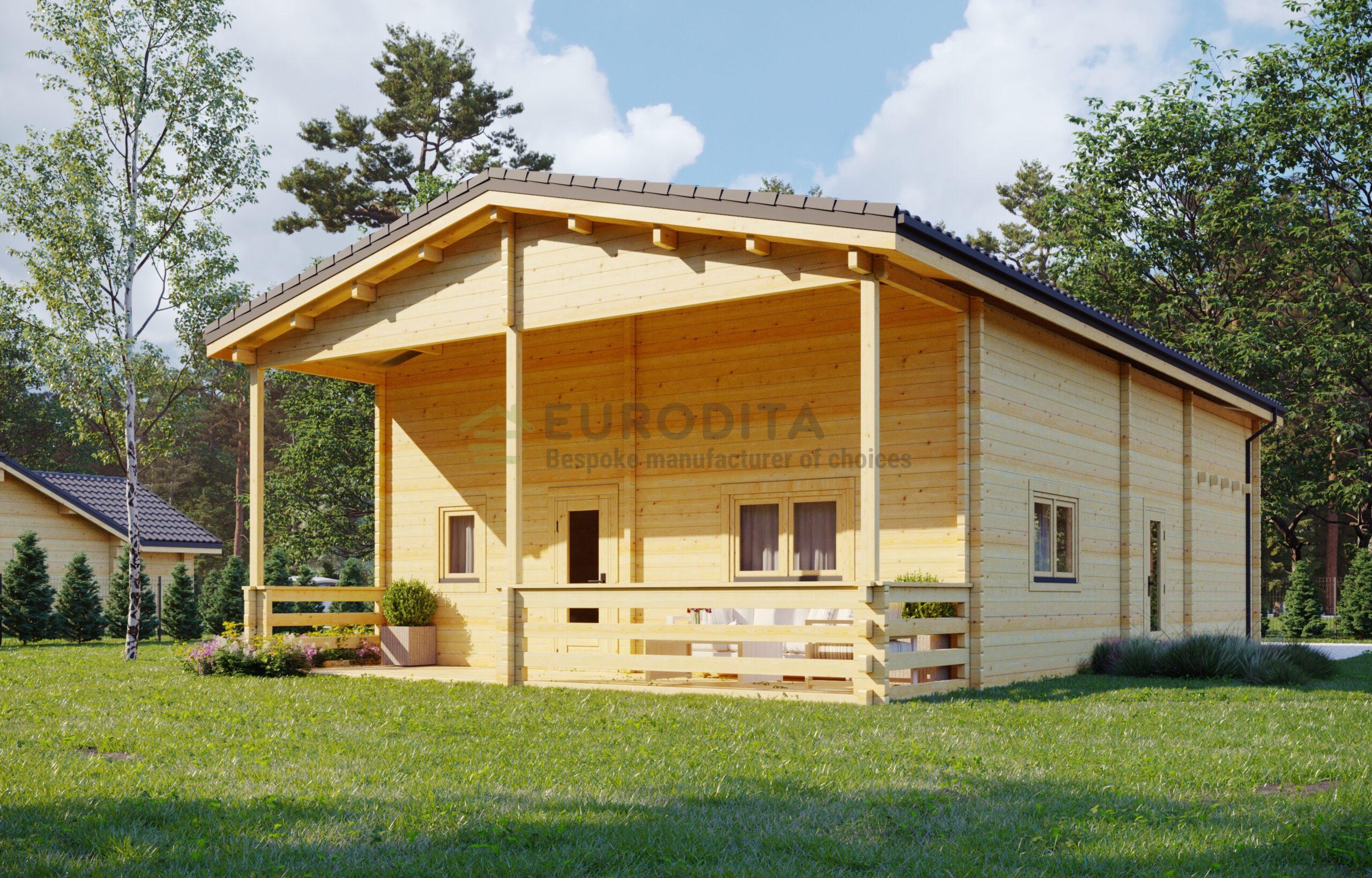 Glulam Log House Toledo