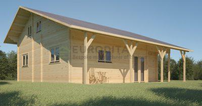 Casa de madera laminada Dallemurstoit