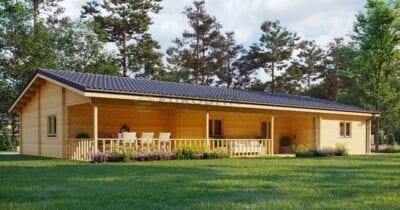 Casa de madera laminada Lucien