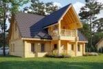 Case in legno lamellare Roma