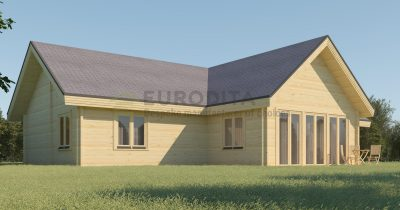 Casa de madera laminada Stockhus