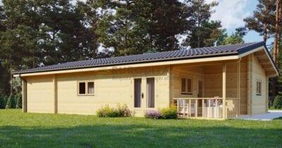 Casa de madera laminada Begue