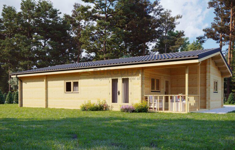 Maison en bois lamellé-collé Begue