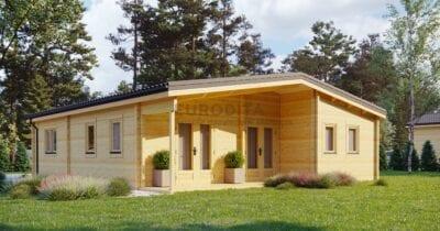 Casa de madera laminada Jackson