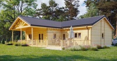 Casa de madera laminada Sylvie