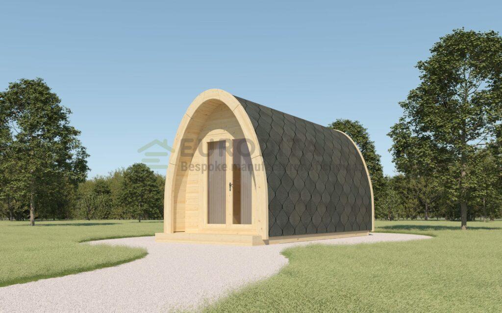 Insulated Camping Pod 2.4×3.0m – Velvet 5