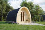Cápsula aislada de camping 3,25×4,8m