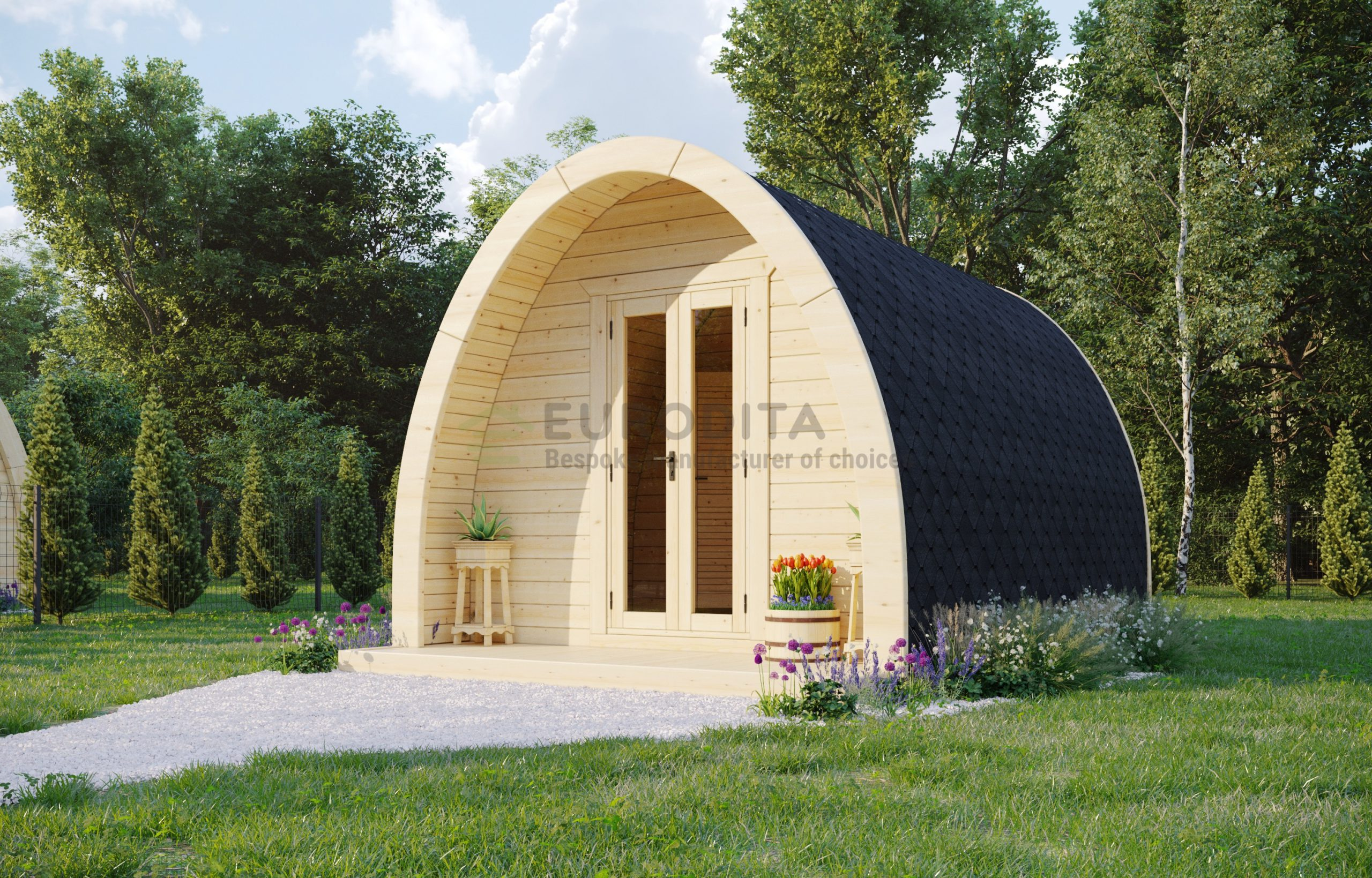 Insulated Camping Pod [3.25×4.8m]